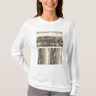 Ferme de vallée de Wahoo, Nébraska T-shirt