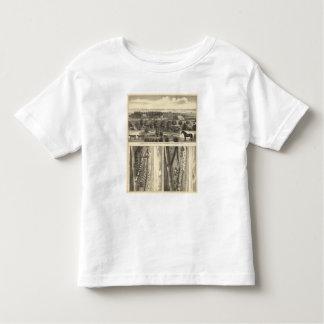 Ferme de vallée de Wahoo, Nébraska T-shirt Pour Les Tous Petits