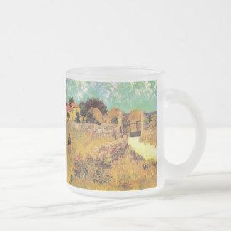 Ferme de Van Gogh en Provence, beaux-arts vintages Mug En Verre Givré
