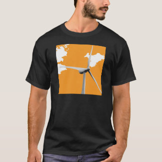 Ferme de vent verte de Knowes T-shirt