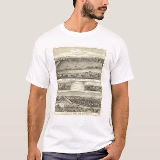 Fermes du comté de Saunders, Nébraska T-shirt