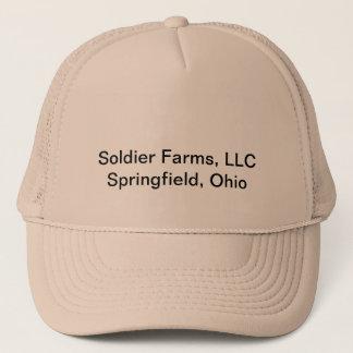 Fermes officielles de soldat, casquette de LLC