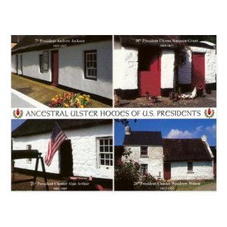 Fermes présidentielles des USA en Ulster Carte Postale