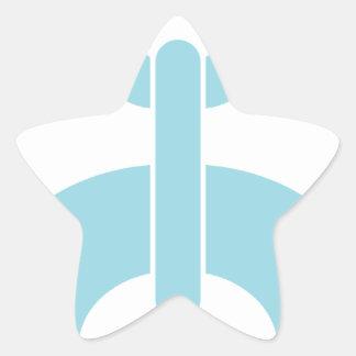 Fermez à clef la chaîne de N Sticker Étoile