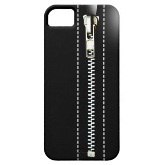 Fermez- la fermeture éclairle - Trompe - l ' noir Coques iPhone 5 Case-Mate