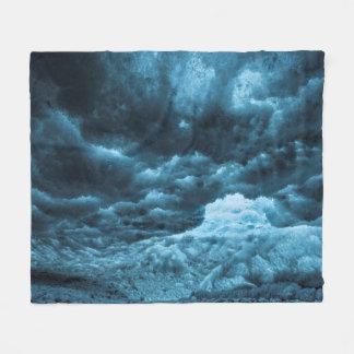 Fermez-vous de la glace bleue, Islande Couverture Polaire