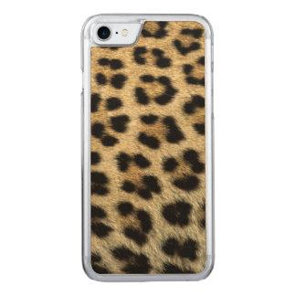 Fermez-vous des taches de léopard, Afrique Coque Carved Pour iPhone 7