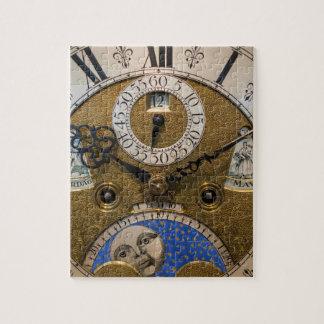 Fermez-vous d'une vieille horloge, Allemagne Puzzle