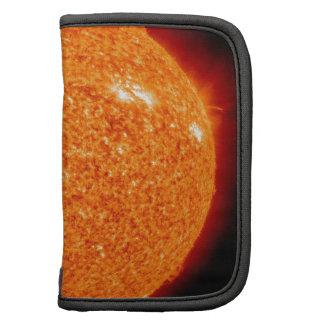 Fermez-vous vers le haut de l'image du sun. agendas folio