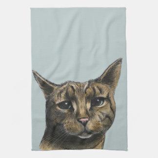 Fermez-vous vers le haut du dessin réaliste de serviettes éponge