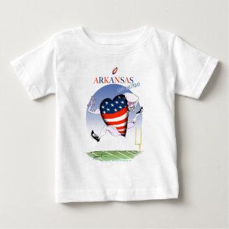 fernandes élégants bruyants et fiers de t-shirt pour bébé