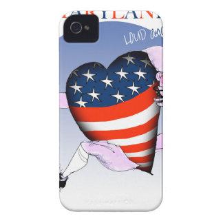 fernandes élégants bruyants et fiers du Maryland, Coque iPhone 4 Case-Mate