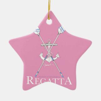 fernandes élégants, régate 12a ornement étoile en céramique