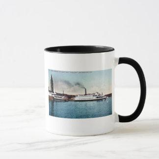 Ferry-boat Tamalpais, Baie de San Franciso Tasse