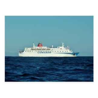Ferry de Comanav Carte Postale
