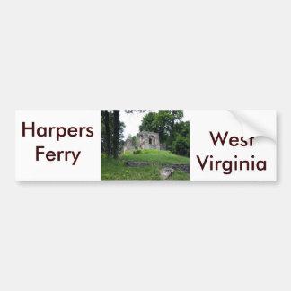 Ferry de harpistes, la Virginie Occidentale Autocollant Pour Voiture