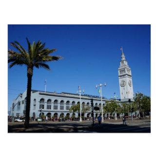 Ferry de San Francisco construisant la carte Cartes Postales