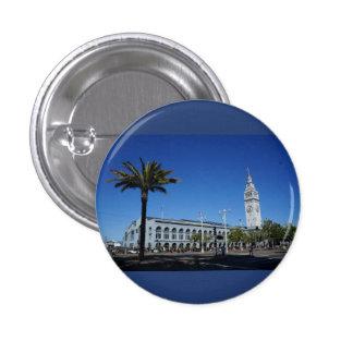 Ferry de San Francisco construisant le bouton de Badges