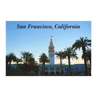 Ferry de San Francisco établissant la toile #11