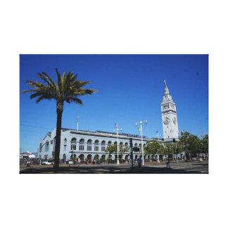 Ferry de San Francisco établissant la toile #2 Toiles