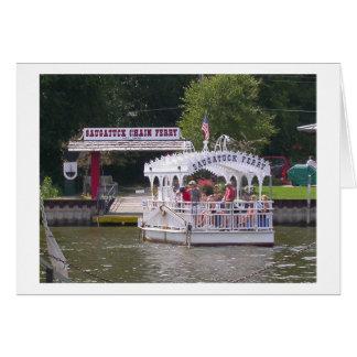 Ferry de Saugatuck Carte De Vœux