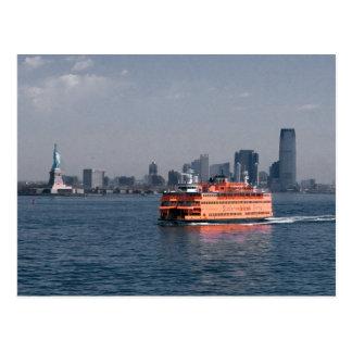 Ferry de Staten Island Cartes Postales