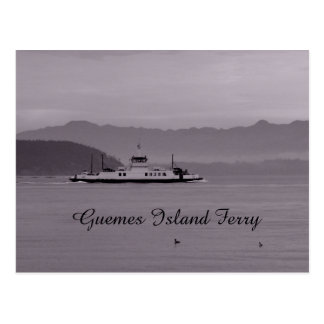 Ferry d'île de Guemes Carte Postale