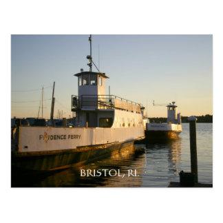 Ferry d'île de prudence carte postale