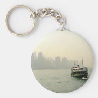 Ferry Hong Kong d'étoile Porte-clé Rond