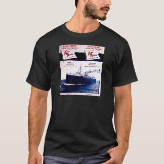 Ferry vintage le lac Michigan de wagon de chemin T-shirt