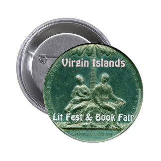 Fest de Lit des Îles Vierges et foire de livre Pin's