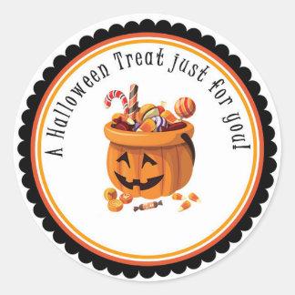 Festin de Halloween juste pour vous autocollant