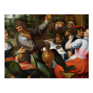 Festin rural, 1566 carte postale