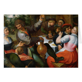 Festin rural, 1566 cartes