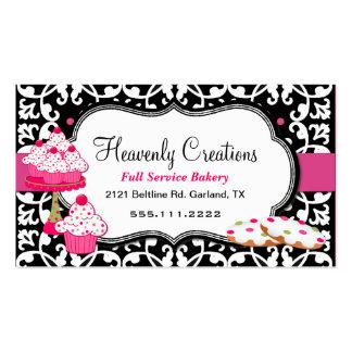 Festins de bonbon et carte de visite de boulangeri