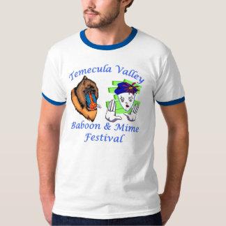 Festival de babouin et de pantomime de Temecula T-shirt
