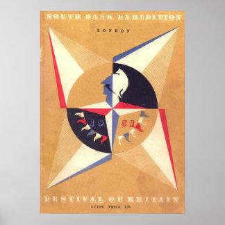 festival de la Grande-Bretagne Posters