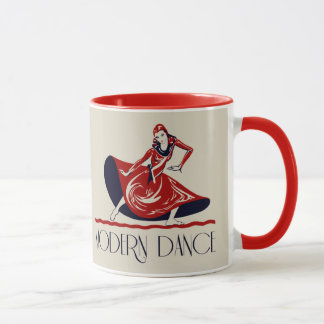 Festival de rétro art de danse moderne mug