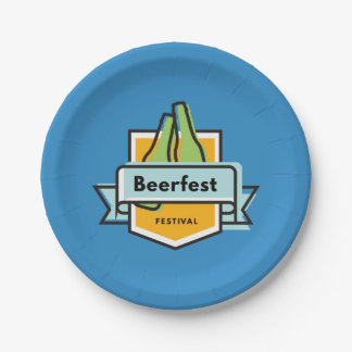 Festival d'Oktoberfest Beerfest Assiettes En Papier