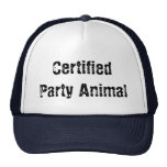 fêtard certifié casquette
