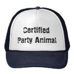 fêtard certifié casquettes