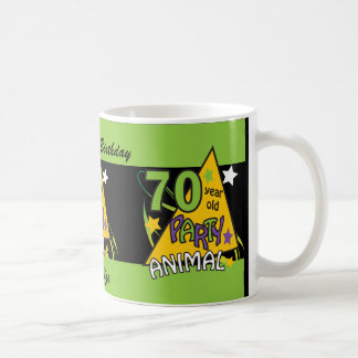 Fêtard de 70 ans - soixante-dixième anniversaire mug