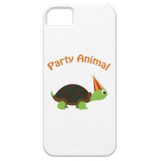 Fêtard mignon de tortue coques iPhone 5