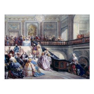 Fête au château De Versailles Carte Postale