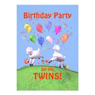 Fête d anniversaire d agneaux pour des jumeaux bristol