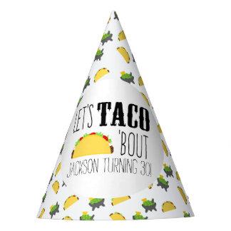 Fête d'anniversaire d'accès de taco ' chapeaux de fètes