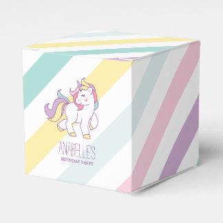 Fête d'anniversaire de filles de licorne ballotins
