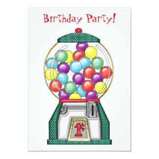 Fête d'anniversaire de sucreries de Gumball Bristols