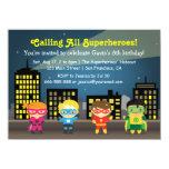 Fête d'anniversaire de super héros d'horizon pour bristol personnalisé