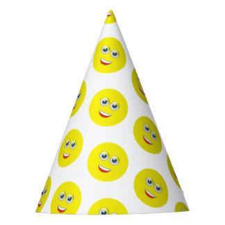 Fête d'anniversaire heureuse d'Emoji Chapeaux De Fètes